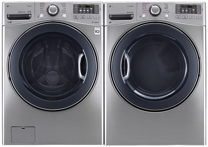 LG WASHER & DRYER FRONT LOAD LAUNDRY PAIR