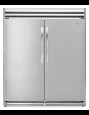 Whirlpool SideKicks All Refrigerator  & Freezer