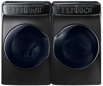 FRONT LOAD LAUNDRY WASHER 6.9 cu.ft. & DRYER 7.5 cu.ft.