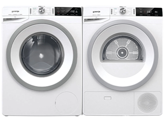 Gorenje 9KG Front Load Washer and Condensation Dryer with Heat Pump