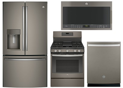 GE PROFILE SLATE KITCHEN PACKAGE