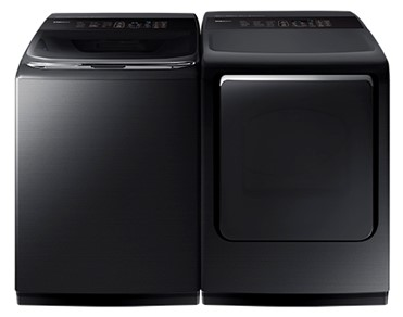 SAMSUNG LARGE CAPACITY TOP LOAD LAUNDRY PAIR