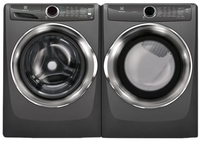 ELECTROLUX FRONT-LOAD PERFECT STEAM LAUNDRY PAIRS