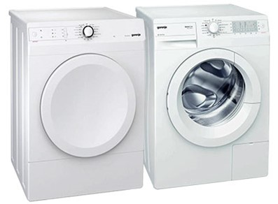 "24"" COMPACT FRONT LOAD LAUNDRY PAIR"