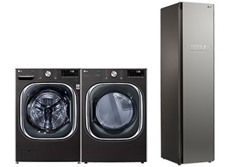 LG Washer Dryer Styler Laundry Package