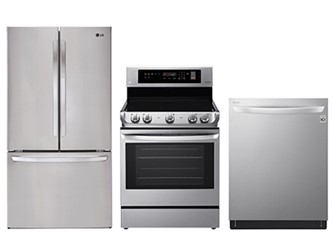 LG KITCHEN PACKAGE - LDT5665ST, LRE4211ST, LFCC22426S