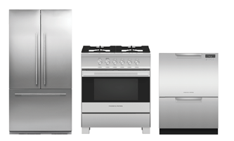 FISHER & PAYKEL KITCHEN PACKAGE - DD24DCTX9N, OR30SDG4X1, RS36A72J1N