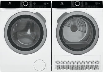 ELECTROLUX COMPACT FRONT LOAD LAUNDRY PAIR-ELFW4222AW & ElFE422CAW
