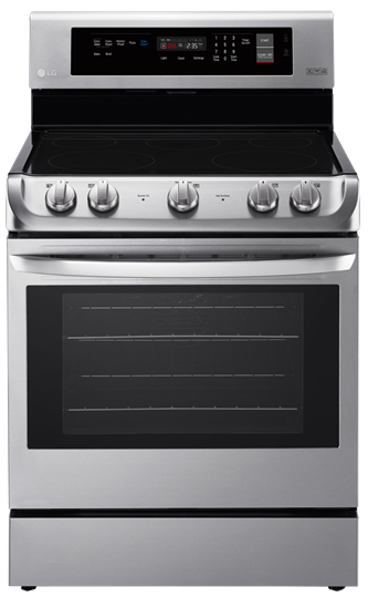 6.3 Cu. Ft Electric Range With Probake Convection and Easyclean(R)