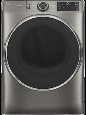 GE™ 7.8 cu. ft. Capacity Dryer with Built-In Wifi Satin Nickel - GFD65ESMNSN