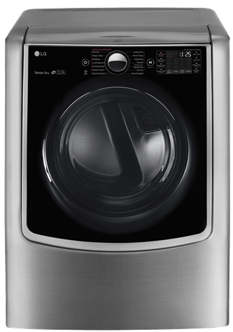 9.0 Cu. Ft. MEGA Capacity Electric Steamdryer With Turbosteam Technology