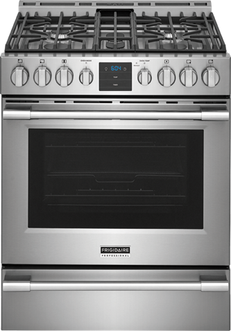 "Frigidaire Professional 30"" Front Control Gas Range with Air Fry"