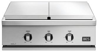 """30"""" Series 7 Griddle/double Side Burner, Natural Gas"""