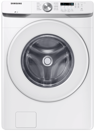 5.2 cu.ft. Front Load Washer with Shallow Depth in White