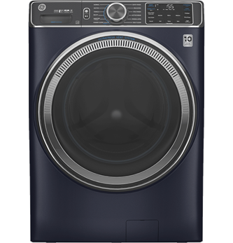 GE™ 5.8 cu. ft. (IEC) Capacity Washer with Built-In Wifi Sapphire Blue - GFW850SPNRS