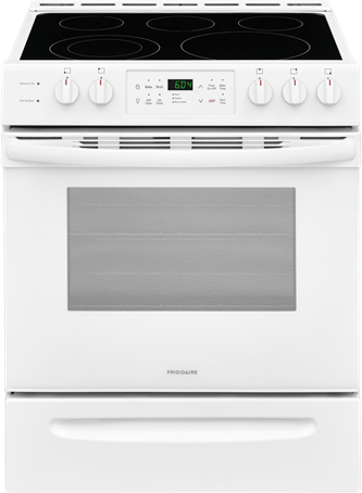 30-Inch Front Control Freestanding Electric Range