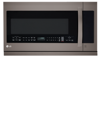 LG Black Stainless Steel Series 2.2 Cu Ft Over-the-range Mirowave With 2nd Generation Slide-out Extendavent