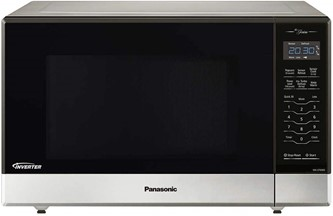 Panasonic NN-ST696S Countertop/Built-in Microwave with Inverter Technology, 1.2 cu. ft, Stainless