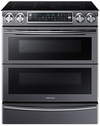 NE58K9850WG Electric Range with Flex Duo , 5.8 cu.ft