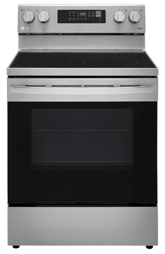 6.3 cu ft. Smart Wi-Fi Enabled Fan Convection Electric Range with Air Fry & EasyClean™