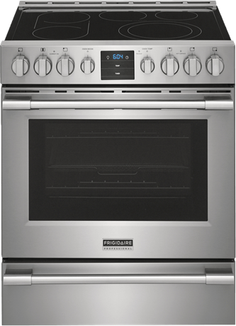 30-Inch Stainless Steel Single Oven Electric Range