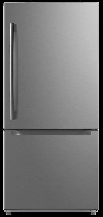 MDE19DSNKSS - Stainless Steel Moffat Moffat 18.6 Cu. Ft. Bottom-Freezer Refrigerator