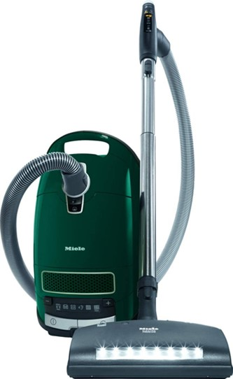 Complete C3 Powerplus Canister Vacuum Cleaner - Green