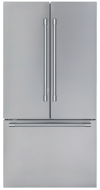 Thermador Freedom French Door Bottom Mount Refrigerator 36' Stainless Steel