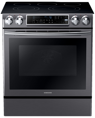 NE58K9500SG Electric Range with Slide-in Design, 5.8 cu.ft