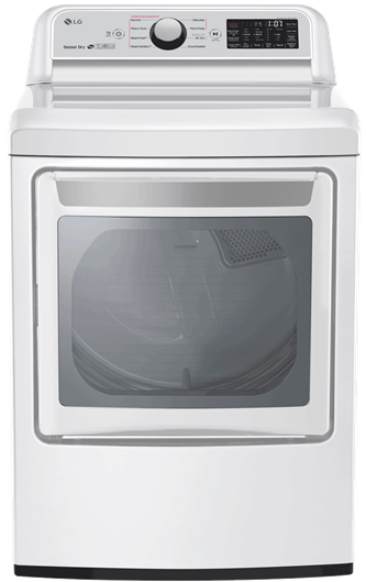 7.3 CU.FT Electric Dryer With Turbosteam™
