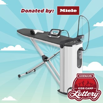 LOTTERY - MIELE FASHIONMASTER STEAM IRONING SYSTEM. PRIZE VALUE $3599