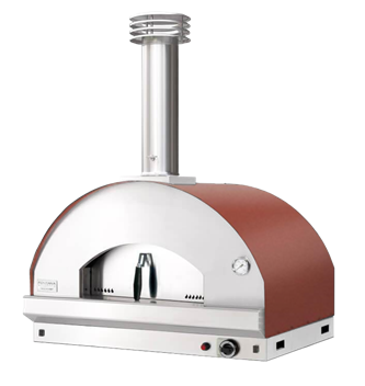 Mangiafuoco Rosso Gas Single Chamber Oven